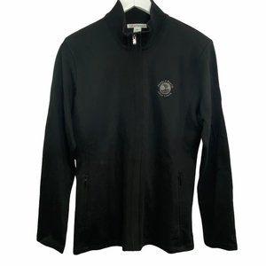 Cutter & Buck Pebble Beach Golf Zippered Sweater M